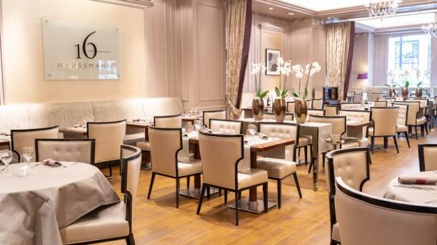 16 Haussmann - Paris Marriott Opera Ambassador hotel Vue de la salle