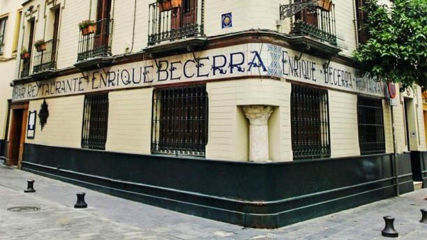 Enrique Becerra Vista entrada