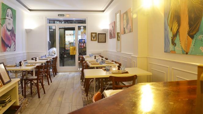 Sala - Elemental Bistro, Madrid