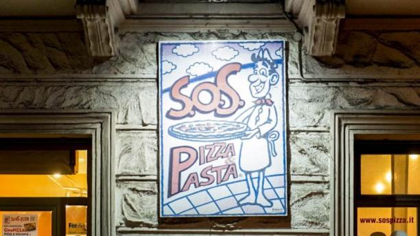 S.O.S Pizza & Pasta Particolare decorazione