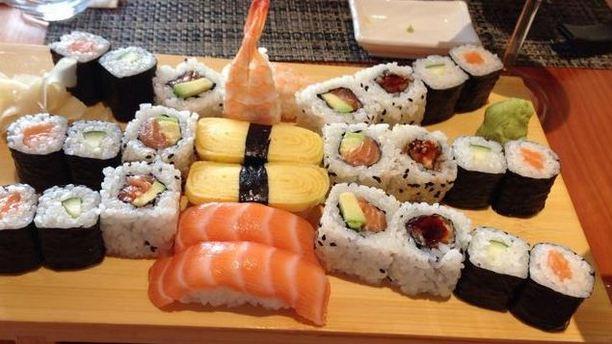 Ikki Sushi varietá di sushi