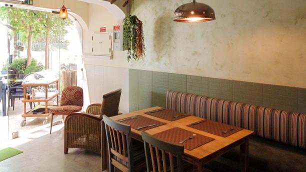 Olivola ristorante Vista da sala