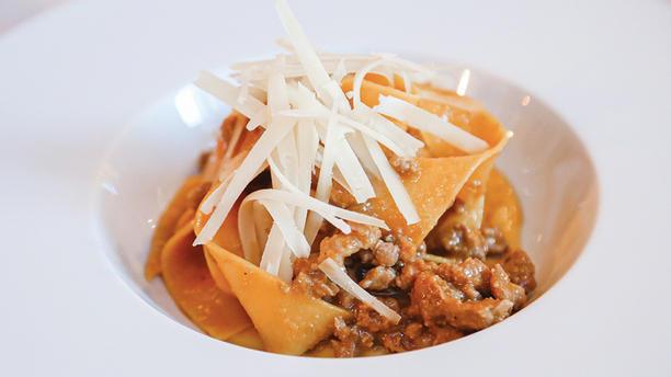 Osteria Brunello Pappardelle al ragù