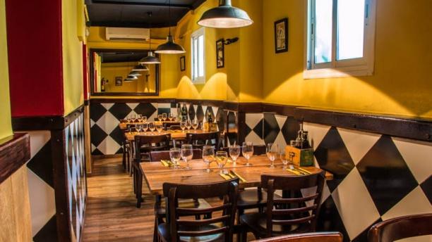 Buon Appetito Barceloneta Vista sala