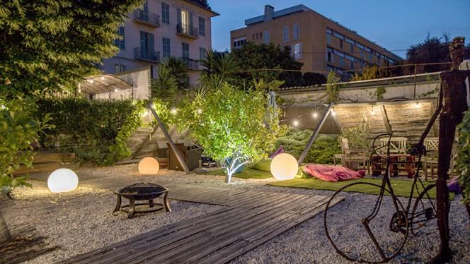 Vue de la terrasse - La Locanda, Nice