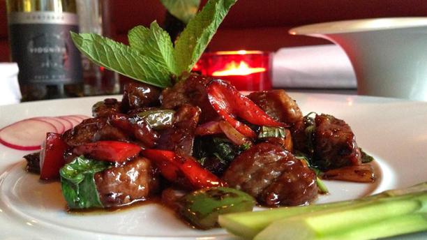 Red Orchids Suggestie van de chef