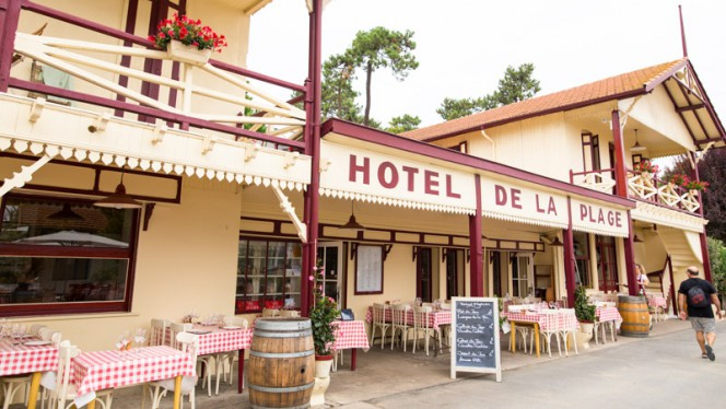 Hôtel de la plage - Restaurant - Lège-Cap-Ferret