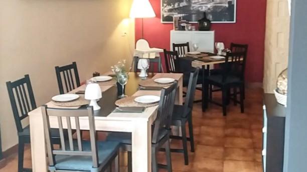 El Gabacho Sala del restaurante