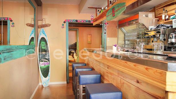KoKo Restaurante Barcelona vista barra