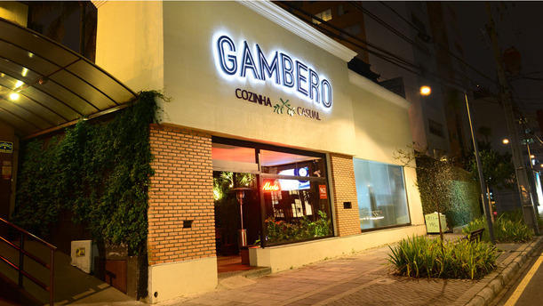 Gambero Cozinha Casual rw Fachada