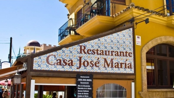 Casa José María Vista de la fachada