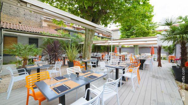 Restaurant o jardin lyon 9 me gorge de loup menu for Jardins et terrasses lyon