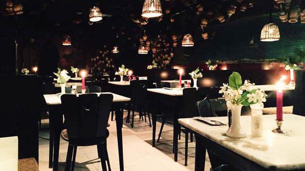 Il Vesuvio Het restaurant