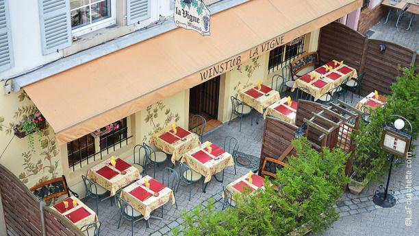La Vigne Bienvenue au restaurant La Vigne