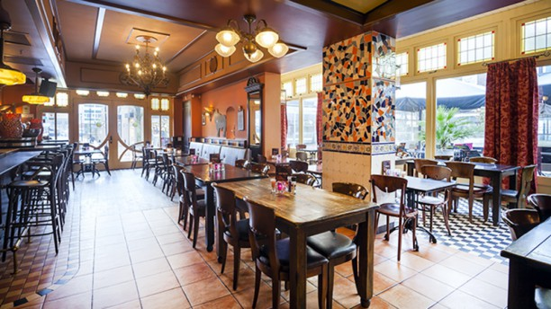 Tapas Restaurant Solera Het restaurant