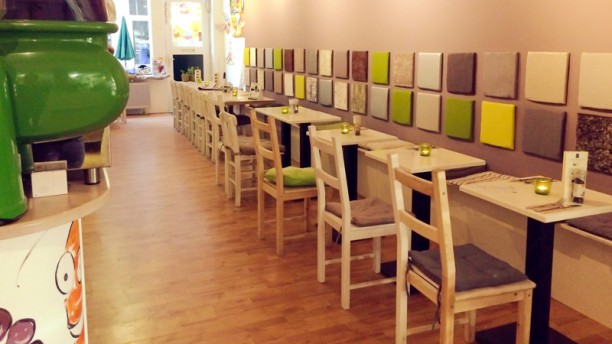 Fine Fresh Food - The Green Restaurant Restaurantzaal