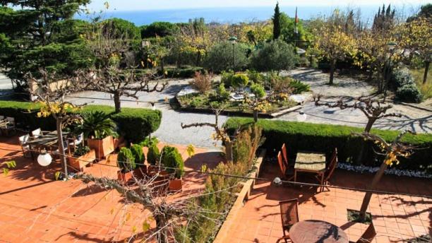Les Terrasses de Sant Romà Vista terraza