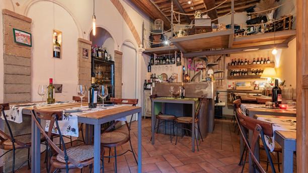 Baccanale Bistrot Wine Bar Vista della sala
