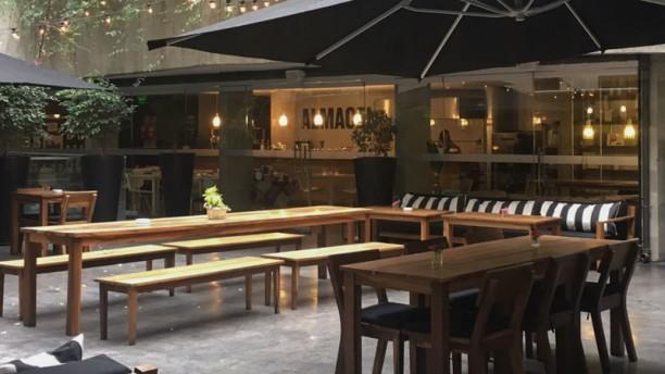 Anselmo Wine Bar (Curio By Hilton) Terraza