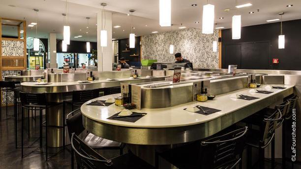Matsuri Genève Salle du restaurant