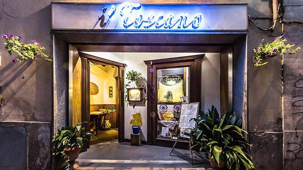 I Toscano La entrata