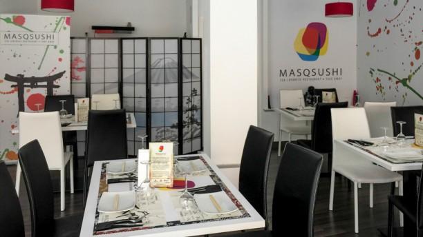 MASQSUSHI Vista de la sala