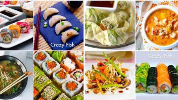 CRAZY FISH, Cuisine Japonaise and More plats