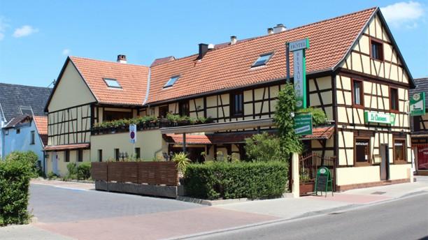 Restaurant du Chasseur Vue Extérieur