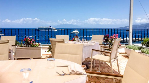 Terrazza Maresca a Capri - Menu, prezzi, immagini, recensioni e ...