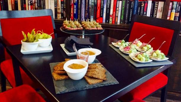 Little Biblioteka Salon du restaurant