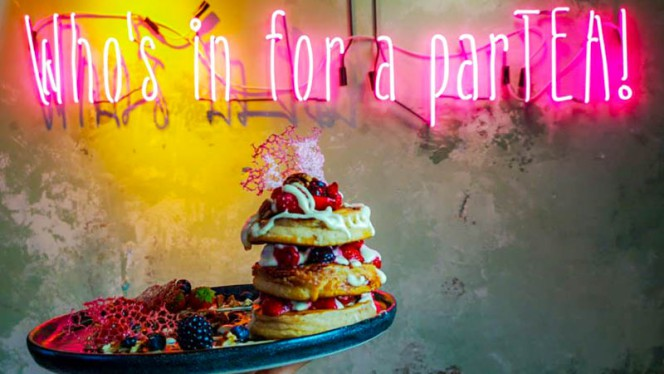 Suggestie van de chef - Mr Stacks - Tea & Pancakes, Amsterdam
