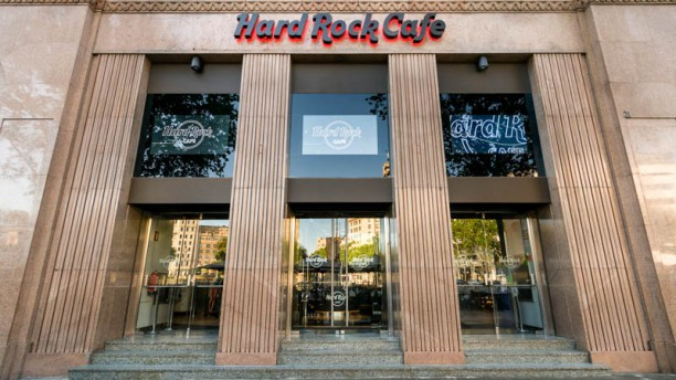 Hard Rock Café - Barcelona Entrada