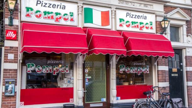 Pizzeria Pompeï Ingang