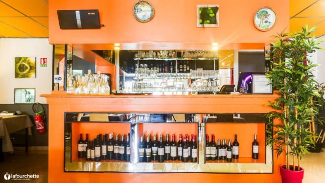 Salon du restaurant - Le Bourg'Bon de Mouzda, Bordeaux
