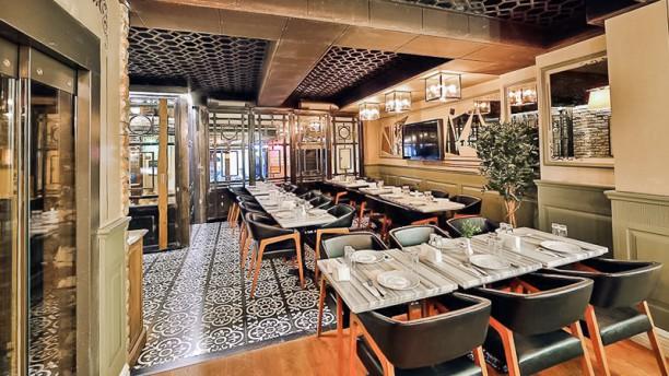 Sanat Cafe Dining room