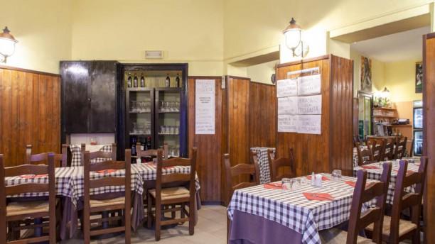 Trattoria Ortica 27 Vista sala
