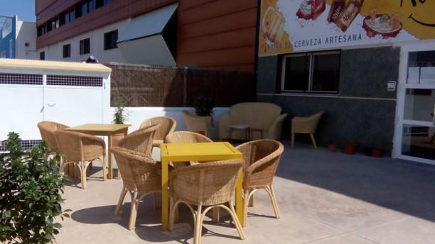 Cervezas Alegría Vista terraza