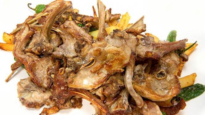 Chuletas de cordero - Bodegón Aurrera, Benidorm
