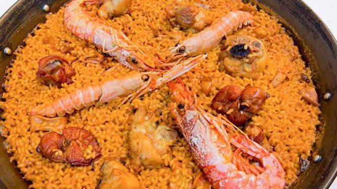 Paella - Bodegón Aurrera, Benidorm