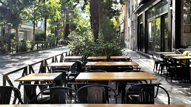 Wok in the Street Vue de la terrasse