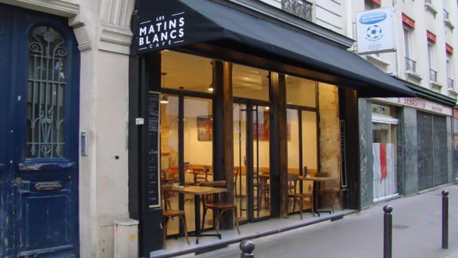 Les Matins Blancs - Restaurant - Paris