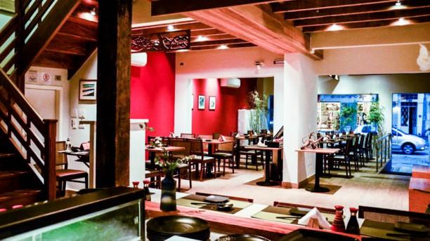 Ozushi Comida Japonesa sala do restaurante