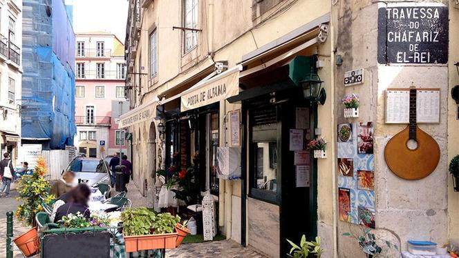 Fachada - Porta d'Alfama, Lisboa