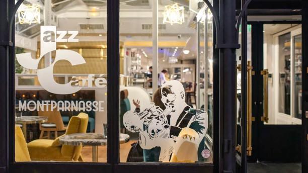 Jazz Café Montparnasse Verrière extérieur