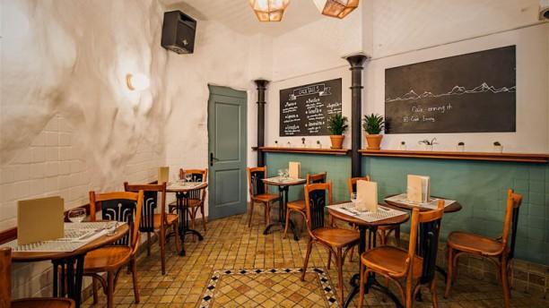 Café Enning Vue de la salle