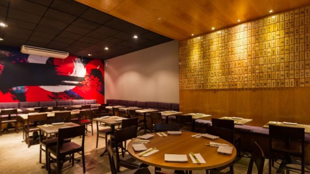 Kibô Sushi Vista salão interno