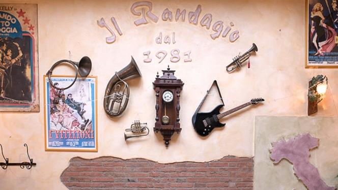 sala - Il Randagio, Bologna