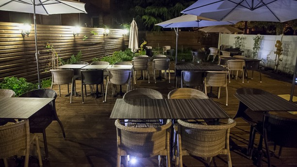 Le jardin in montreuil restaurant reviews menu and - Restaurant le jardin haguenau ...