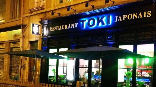 Toki Sushi Devanture