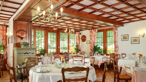 Restaurant du Château d'Andlau Salle du restaurant